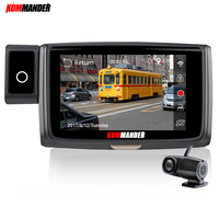 KOMMANDER 4 ips Wi Fi видеорегистраторы для автомобилей Камера dual FHD 1080 P Novatek NT96663 Sony290 Сенсор с ночным видением