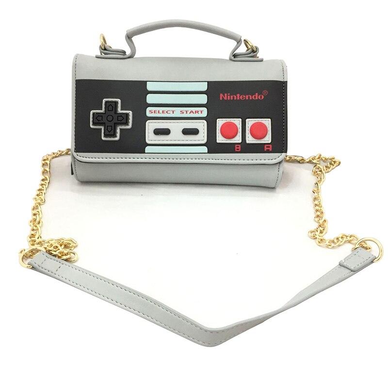 Juego clásico Super Mario Messenger Bag PU de cuero monedero largo - Bolsos - foto 6