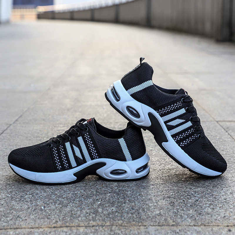 Men Casual Shoes 2019 Sport Running Shoes Men Flats Outdoor Sneakers Mesh Breathable Safety Work Shoes Sport Trainers