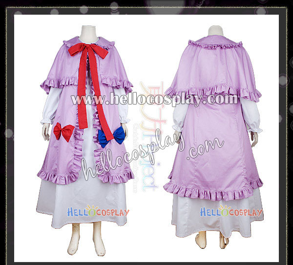 Touhou Project Cosplay Patchouli Knowledge Costume H008