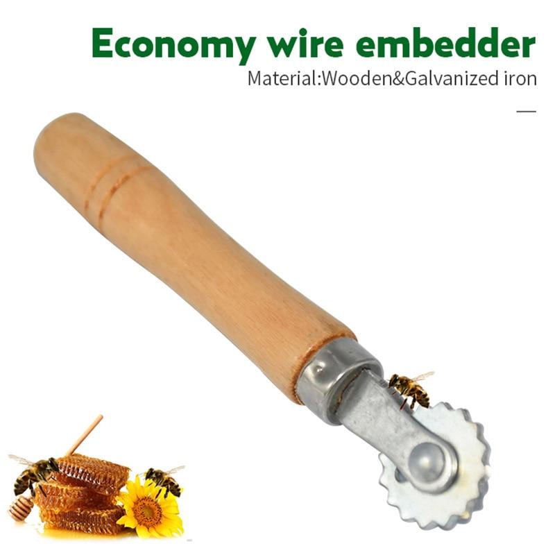 Herramienta para colmena de abeja, herramienta para colmena, equipo para apicultura, herramienta para Apicultura Herramientas de apicultura 33cm (13 pulgadas) miel de abeja cuchillo de raspado raspador de colmena equipo cortador para suministros de Apicultura