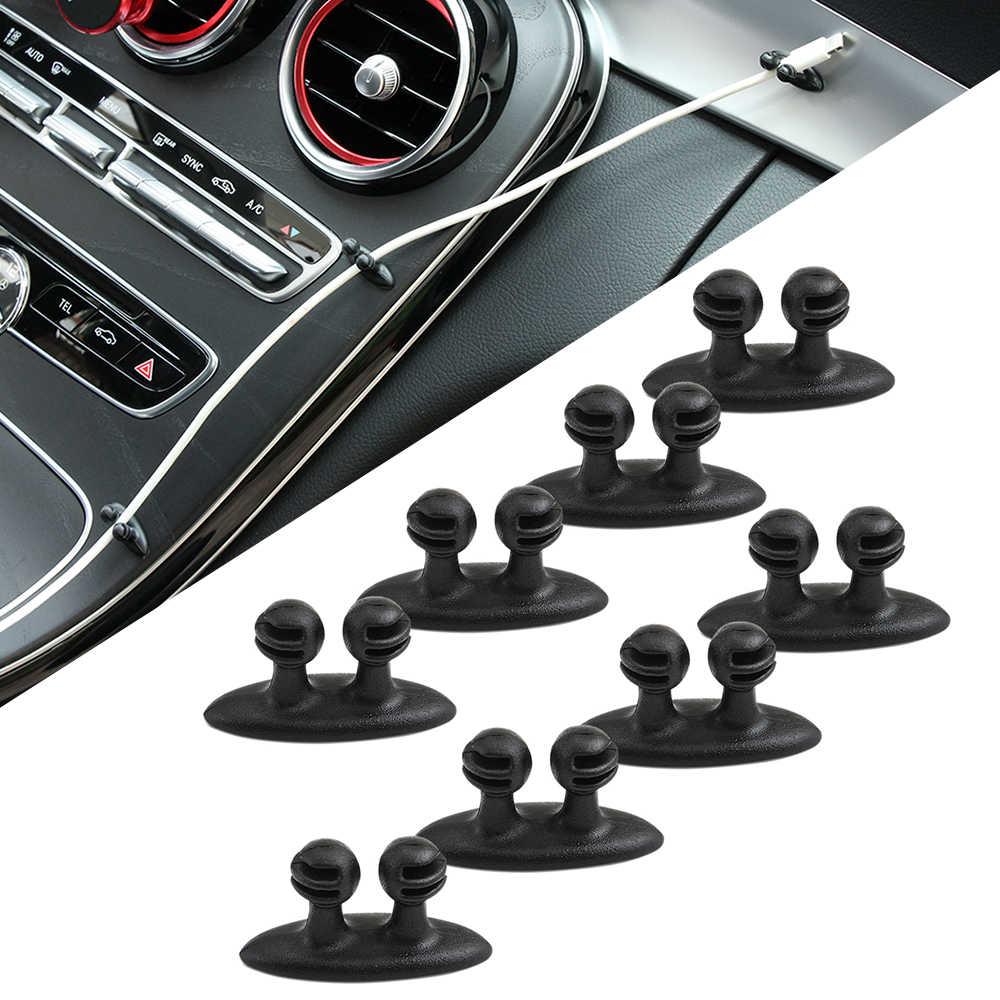Clips d'autocollants de fil de voiture | Pour Volvo S40 S60 S70 S80 S90 V40 V50 V60 XC60 XC70 XC90 8 pièces