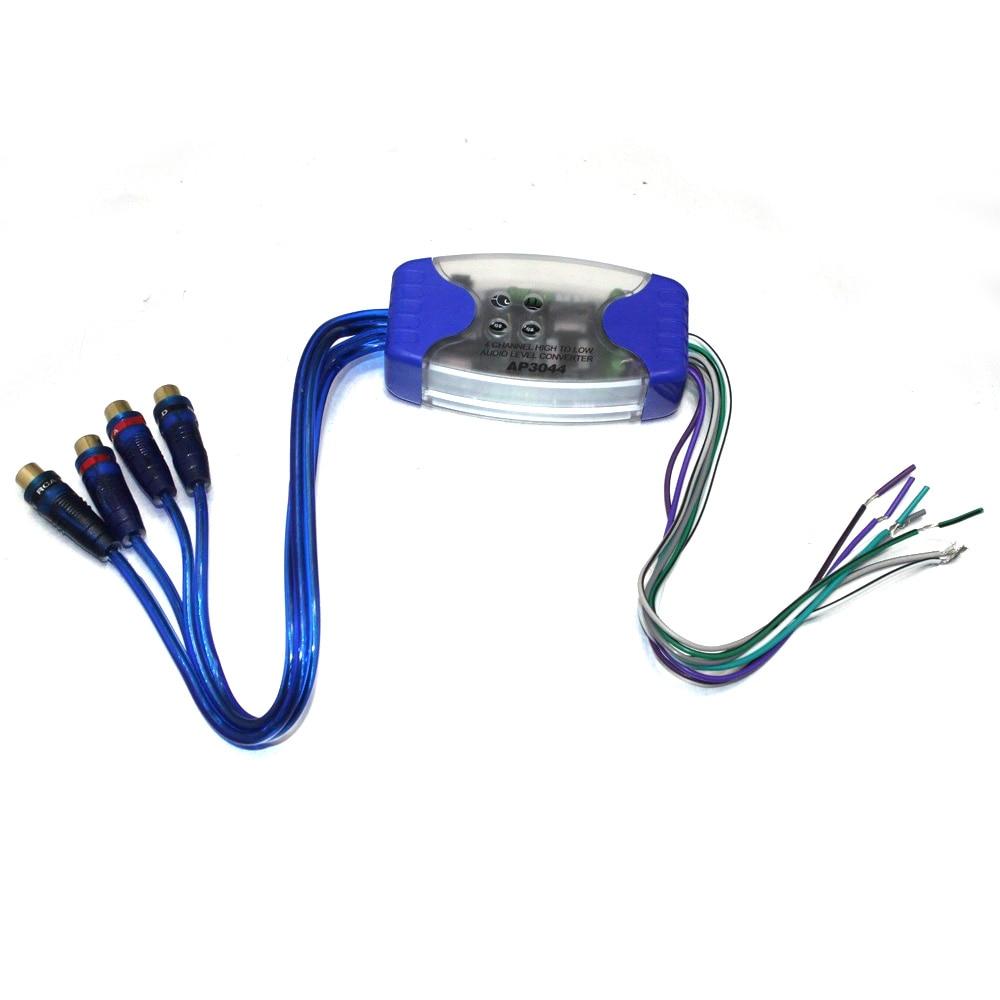 New Line Level High//Low Adjustable Converter Ground Loop Isolator