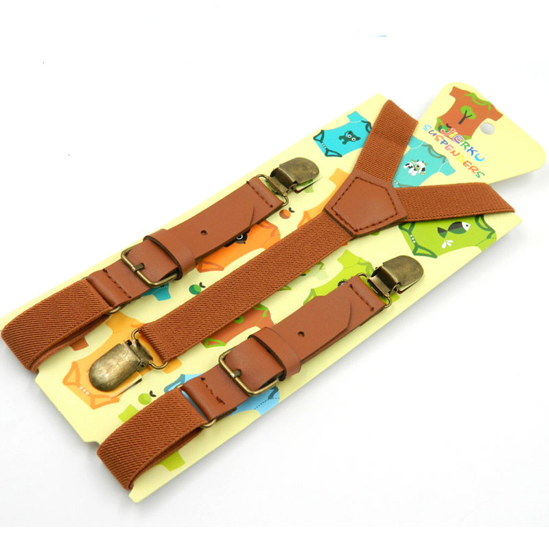 Kids Suspenders Baby Braces Strong 3Clips Students Suspenders Trousers Suspensorio Elastic Strap size 2.5*70cm