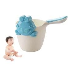 1piece Baby Bath Tub Plastic Kids Shampoo Rinse Cups