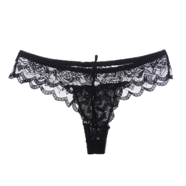 1ac9e850ec 1PC Women Lady Sexy Lace G-string Briefs Panties Thongs G-string Lingerie  Underwear