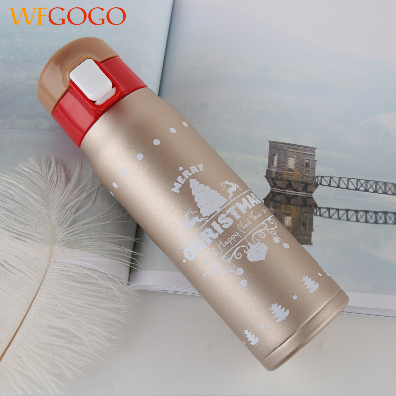 Stainless Steel Insulated Thermos Cup Flask Travel Mug Water Drink Bottle