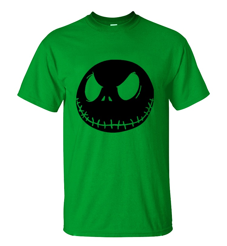 ALI shop ...  ... 32791189173 ... 4 ... nightmare before christmas cartoon Jack Skellington Men T Shirt Grimace 2019 Summer New 100% Cotton Hip Hop Streetwear T-Shirt ...
