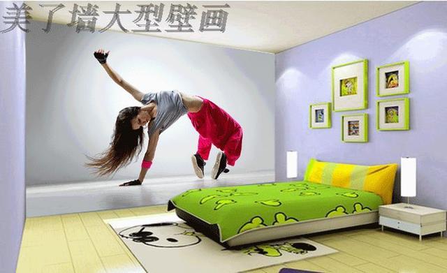 Photo Wallpaper Girl Dancers Dance Training Center Wallpaper HD Art  Photography Wallpaper Bedroom Living Room Background