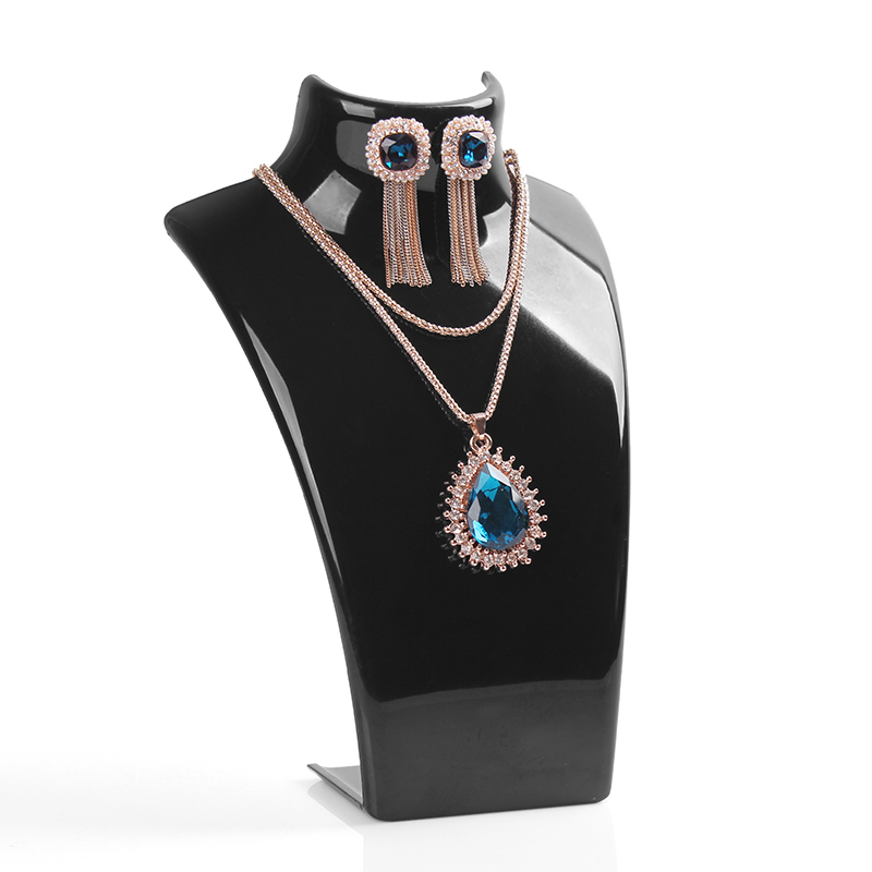 Schaufensterpuppe Halter Ohrring Armband Halskette Schmuck Display Stand