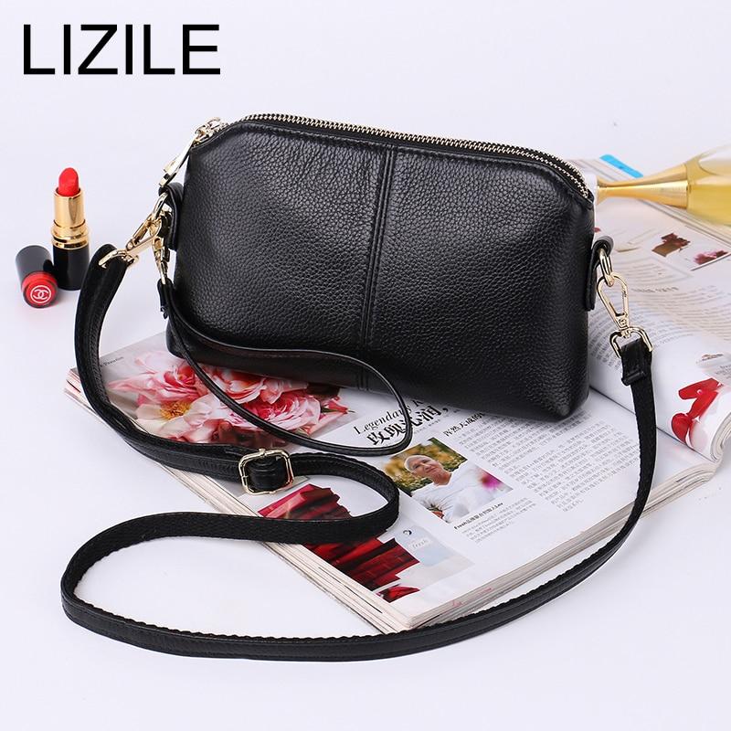 Genuine Leather Vintage Small Women Crossbody Bag Clutch Purse Wristlet Women handbag 2017 все цены
