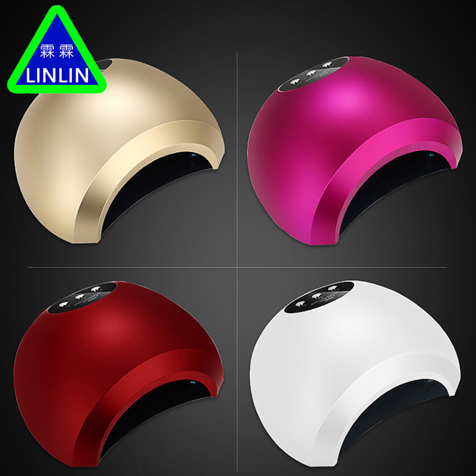 LINLIN Nail 48W intelligent induction double light phototherapy machine nail LED phototherapy baking lamp drying machine nail