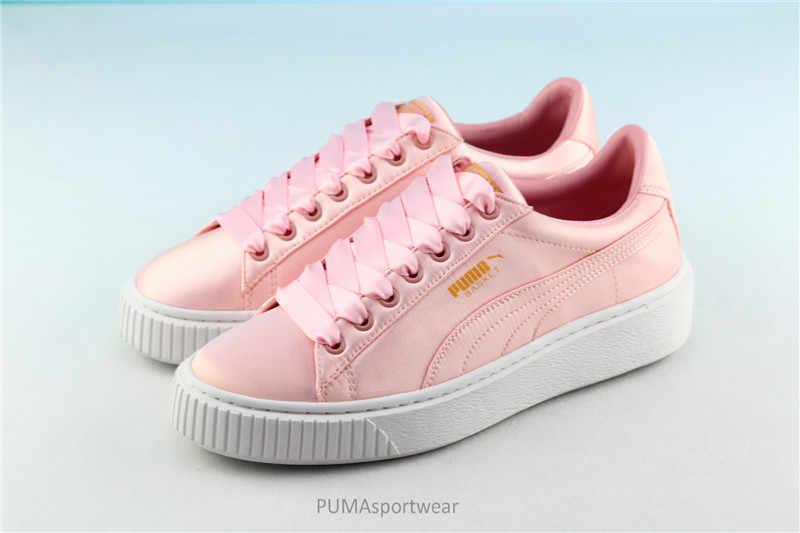 0d71a00d0cc New Arrival Puma Rihanna x Fenty x Puma Creeper Basket Platform Tween Jr  Women s Breathable Sneakers
