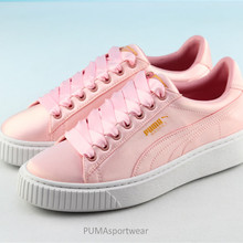 New Arrival Puma Rihanna x Fenty x Puma Creeper Basket Platform Tween Jr  Women s Breathable Sneakers 492ed04f6