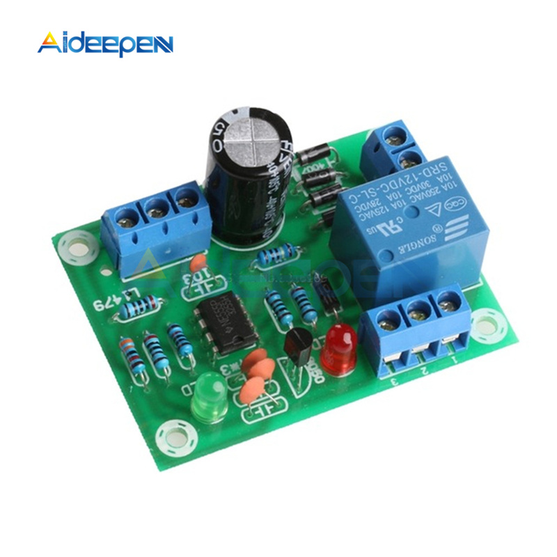 1 Set DC 12V 10A Water Level Controller Module DIY Kit Water Level Switch Sensor Module For Tank Pond (Without Probe)
