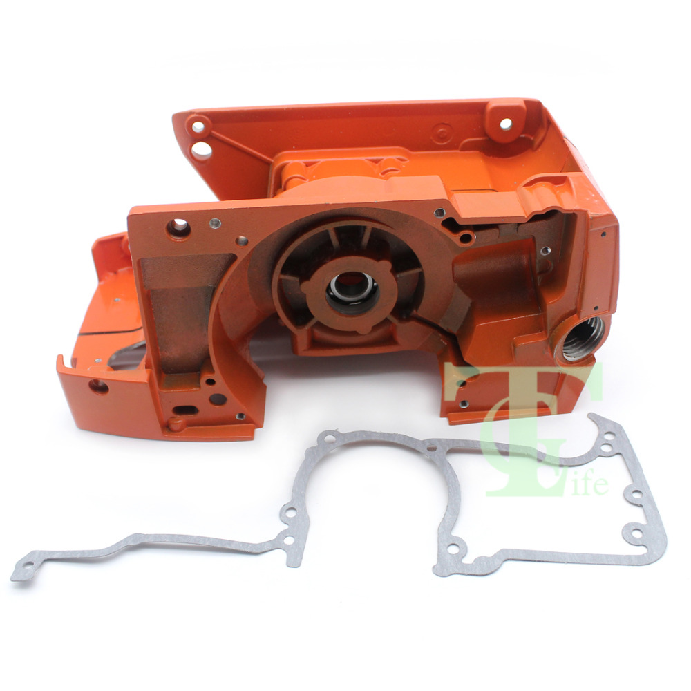 Crankcase Crank Case Engine Motor Housing Gasket For HUSQVARNA 61 268 272 272XP Chainsaw Parts crankcase crank case engine motor housing gasket for husqvarna 61 268 272 272xp chainsaw parts