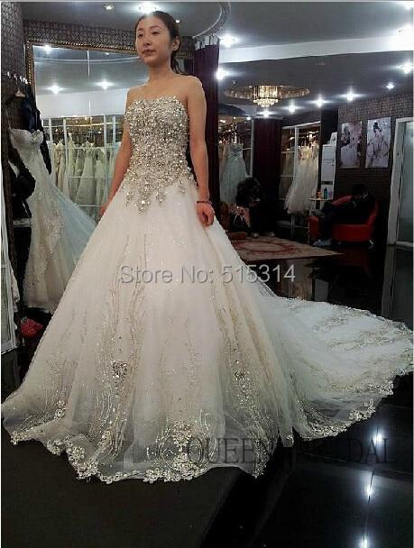 Wedding Dress With Diamonds - Wedding Photography