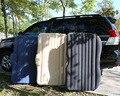 2016 Mejores Ventas de Nuevo Asiento de Coche Cubierta de Colchón de Aire Del Coche Cama de viaje Inflable Colchón de Aire Cama Inflable Buena Calidad Coche cama