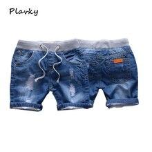 2020 летние джинсовые шорты для мальчиков детские брюки повседневные
