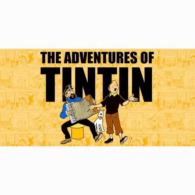 Serviette De Plage Tintin.22 77 40 De Reduction Nouveau Les Aventures De Tintin Plage Towel Mode De Bain Serviettes 100 Fiber De Bambou De Natation Towel Doux Voyage