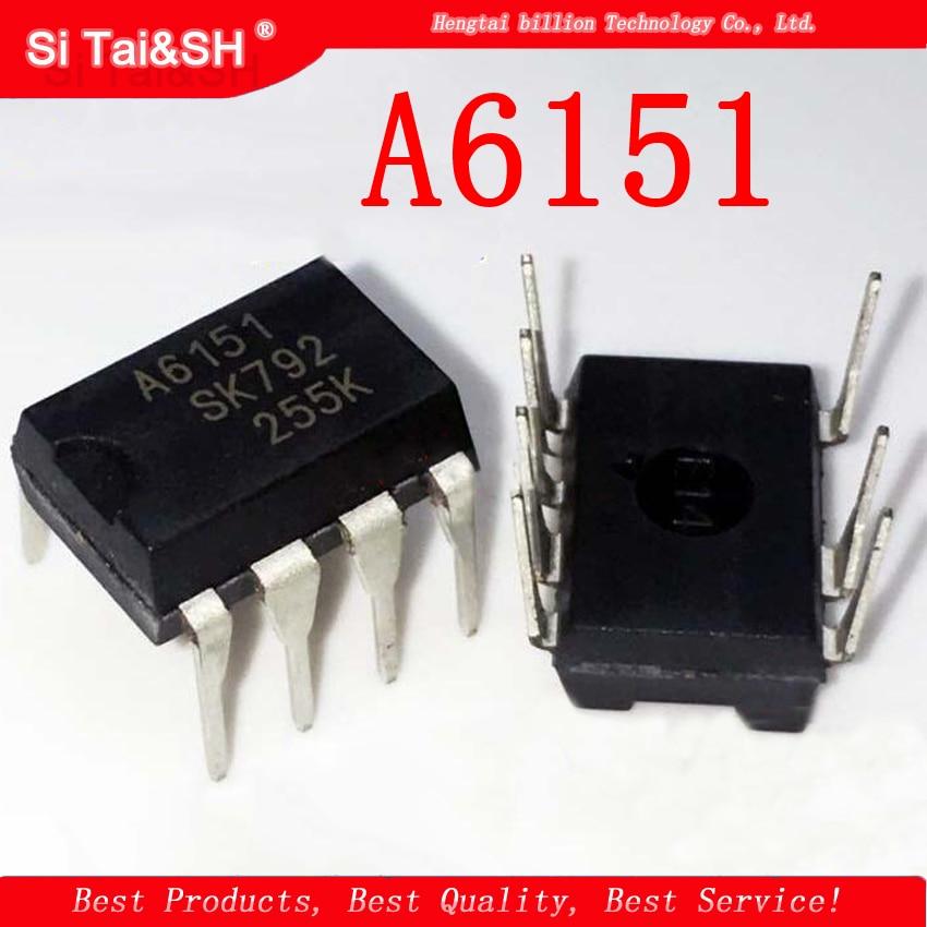 1PCS  A6151 STR-A6151 DIP -7 LCD Power Chip IC Integration