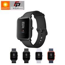 Купить Английская версия HUAMI Amazfit Смарт-часы молодежное издание Bip бит темп Lite 32 г ультра-легкий Экран 1,28″ водонепроницаемый gps компас