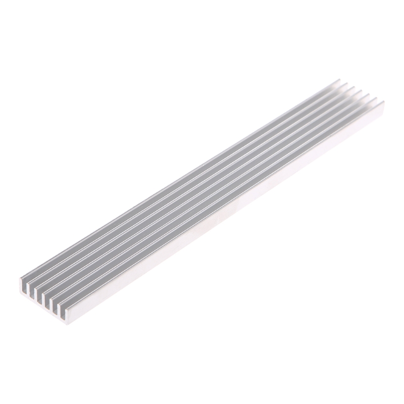 1 Set 150*20*6mm Aluminum Heatsink Strip Cooling Computer Electronic Radiator Cooler High Quality New Design