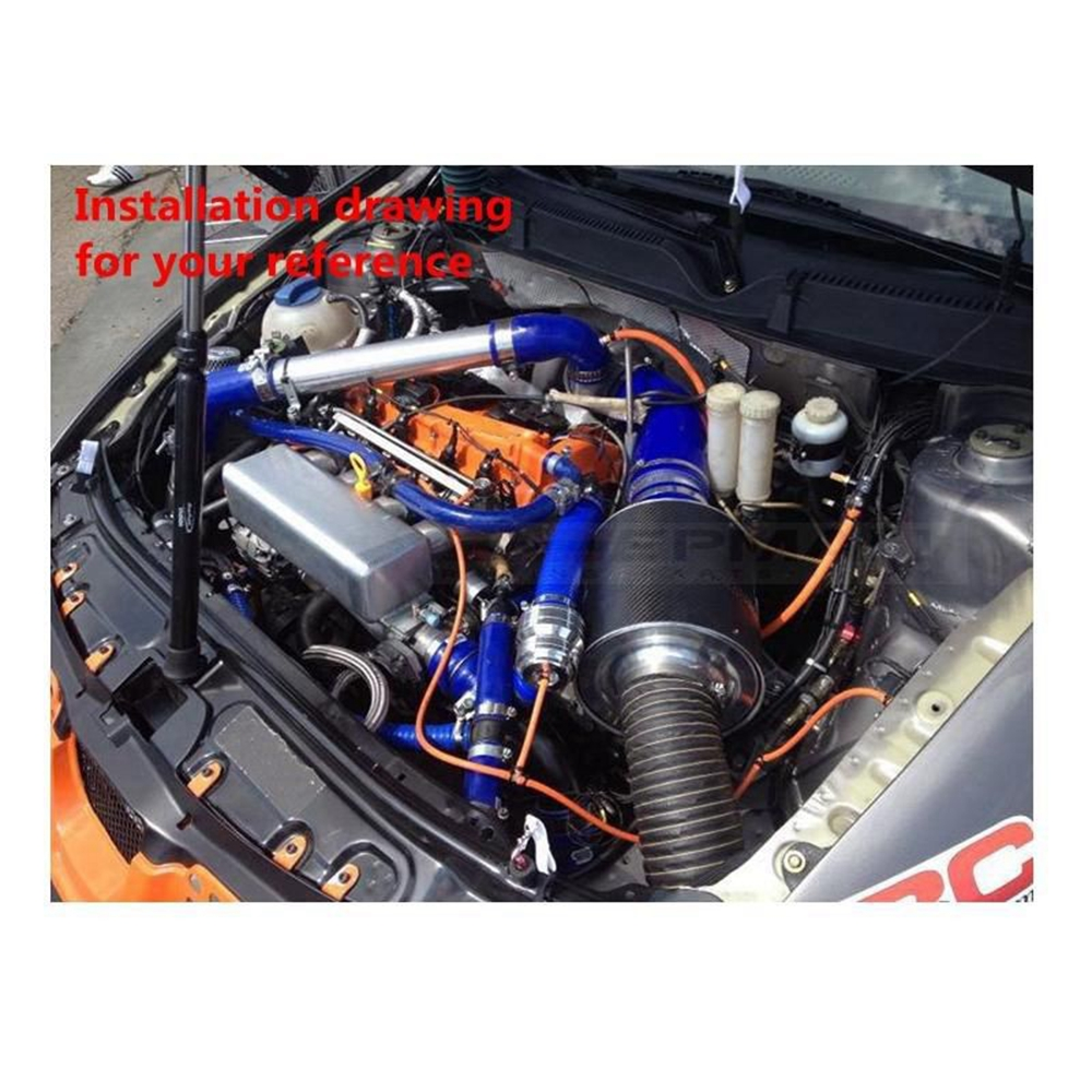Racing Silicone turbo intercooler Radiator hose kit For Honda Civic EP3  K20A Type-R 01-06 (2pcs) EP-HDR014