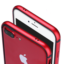 Гибридный Металлический Корпус для iPhone 7 Плюс Алюминий Металл Прочный Ударопрочный силиконовый Телефон Случаях Чехлы для iPhone 6 s 7 плюс