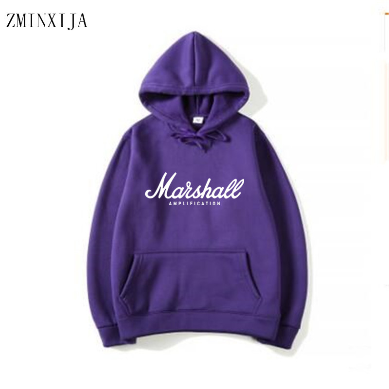 bddd21b2bf286 Mode Homme et Accessoires Marshall Sweat Hoodies Hommes Femmes 2019 Mode  Style Rock Band Musique Hip ...