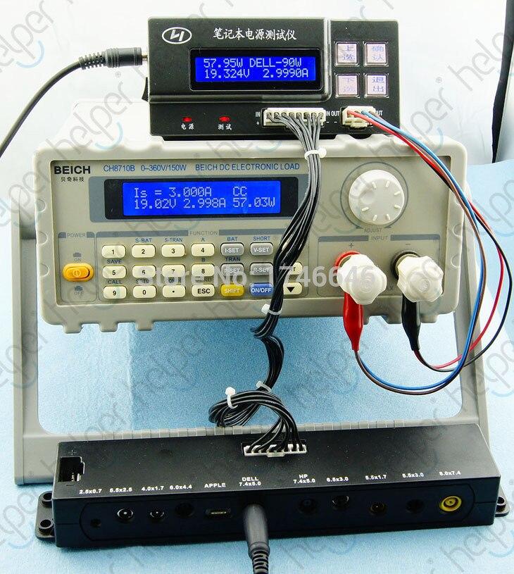 Probador adaptador de CA de ordenador portátil perfecto, probador de cargador de ordenador portátil, probador de fuente de alimentación de ordenador portátil