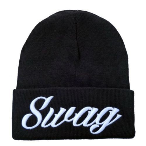Hip-Hop Swag Beanies Cotton Men Women knitted cap wool Hats warm caps Snapback Hats winter hats