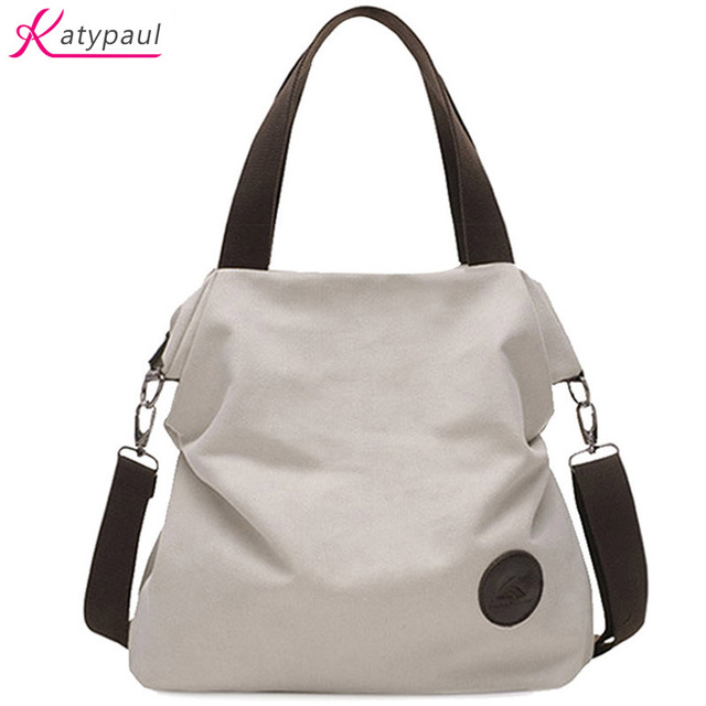Bolsa Feminina Aliexpress : Casual beach woman canvas bags women shoulder bag