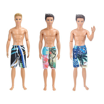 Ken the Boyfriend Swimming Pants Outfits for Barbie  BJD Doll Clothes Accessories Play House Dressing Up  Kids Toys ken the boyfriend swimming pants outfits for barbie bjd doll clothes accessories play house dressing up kids toys
