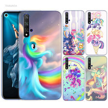 My Little Pony Case for Huawei Honor 8X 8C 8 9 10 20 Play 8A lite Pro V20 Y9 Y7 Y6 Y5 Prime 2018 2019 TPU Anime Phone Bags Cover(China)