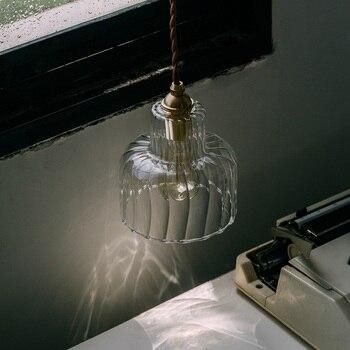 Style Loft Industrial Lamp Pendnt Lights Kitchen Vintage Light Fixtures Copper Hanging Lamp Bedroom Dining Luminaire Suspendu