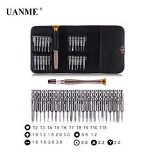 UANME 25 in 1 Precision Screwdriver Set Repair Tools Kit for iPhone 5s 6s Plus 7