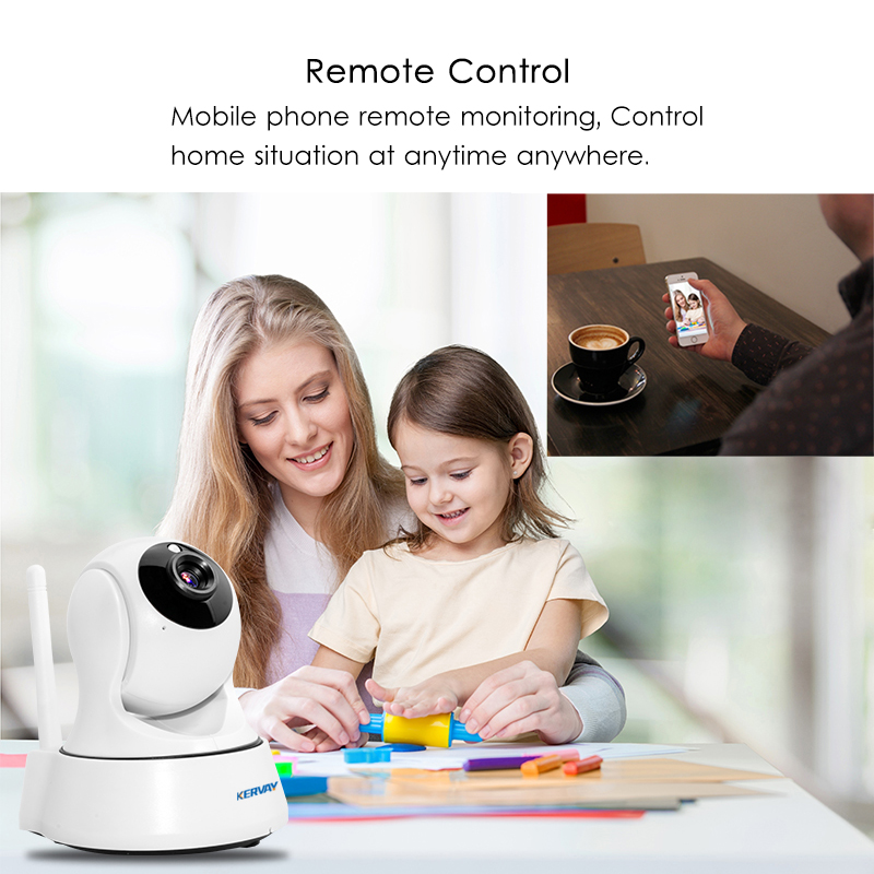 Image 3 - 1080P HD Wifi Camera Network Surveillance Night Camera Indoor Home P2P CCTV Camera Wifi Function Onvif Camera With Two way Audio-in Surveillance Cameras from Security & Protection