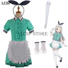 LCSP Blend S Kanzaki Hideri Coffee Maid Sakuranomiya Maika Cosplay disfraz  japonés Anime uniforme traje ropa b8f686a14678