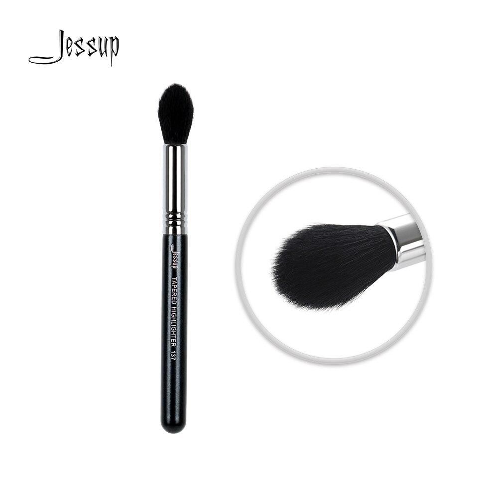 Jessup pinsel Professionelle Gesicht pinsel Make-Up pinsel Verjüngt Textmarker bilden Schönheit Kosmetische 137