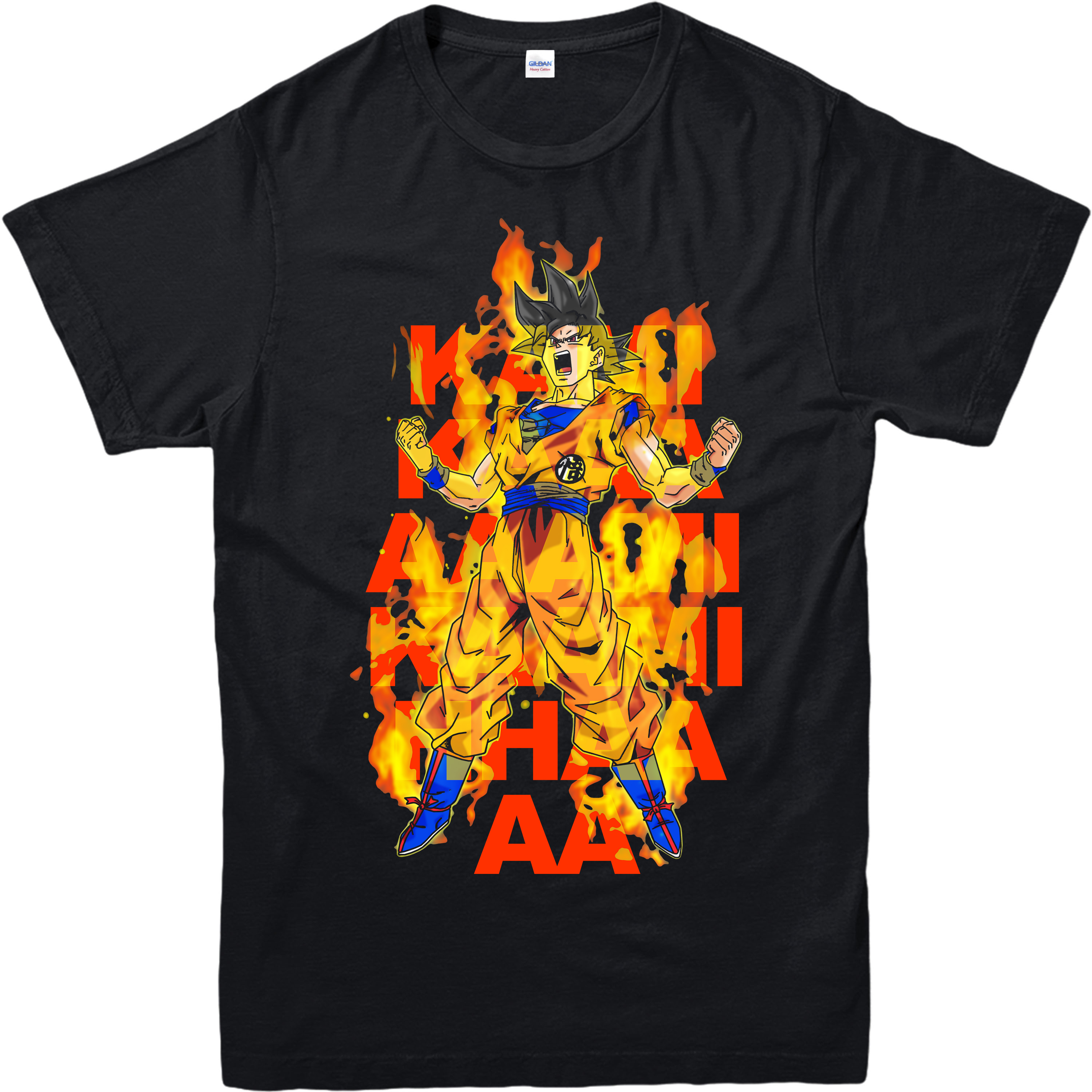 goku Kami kami haa T shirt dragon ball Z inspired design gift top goku spoof Free shipping Harajuku Tops Fashion Classic Unique in T Shirts from Men 39 s Clothing
