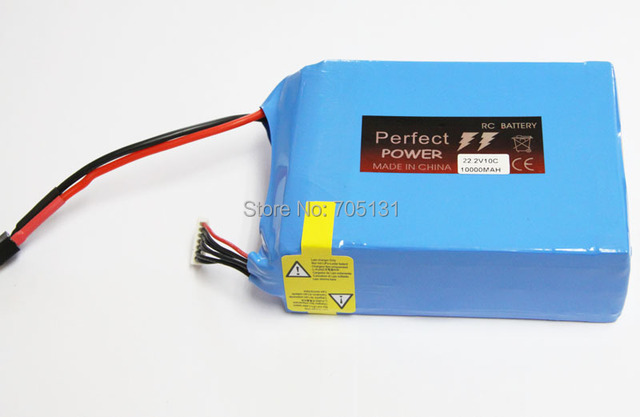 6S lipo battery 22.2v 10000mAh 10C UAV rc helicopter rc car rc boat quadcopter remote control toys Li-Polymer battey