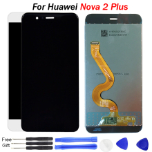 Original Nova 2 Plus LCD For Huawei Nova 2 Plus Screen Display BAC-L23 L21 L01 Touch Screen Digitizer Assembly Replacement LCD original new lcd screen 12 1 inches g121s1 l01