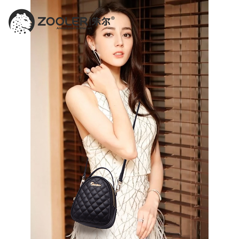 2019 new small bags fashion travel bag ZOOLER luxury genuine leather bags women designer crossbody messenger