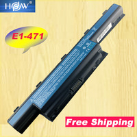 HSW 7800mAh Laptop Battery For Acer For Aspire V3 471G 551G 571G 771G E1 421 431 471 531 571 Series 9CELL