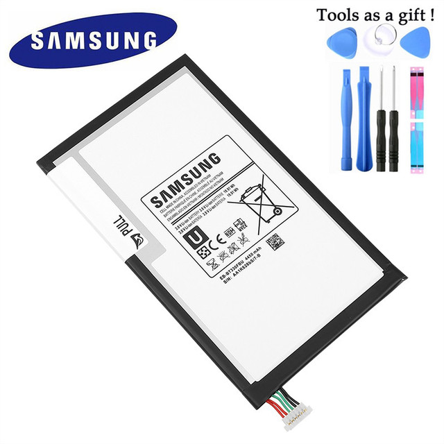 SAMSUNG Original 4450mAh EB BT330FBU EB BT330FBE Replacement Battery For Samsung Galaxy Tab 4 8.0 T330 T331 T335 SM T330 SM T331