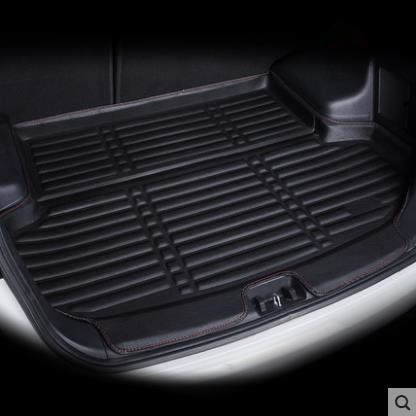 FIT FOR NISSAN QASHQAI J11 2014 2015 2016 2017 2018 BOOT MAT REAR TRUNK BOOT LINER CARGO FLOOR TRAY CARPET MUD KICK PROTECTOR|Car Stickers| |  - title=