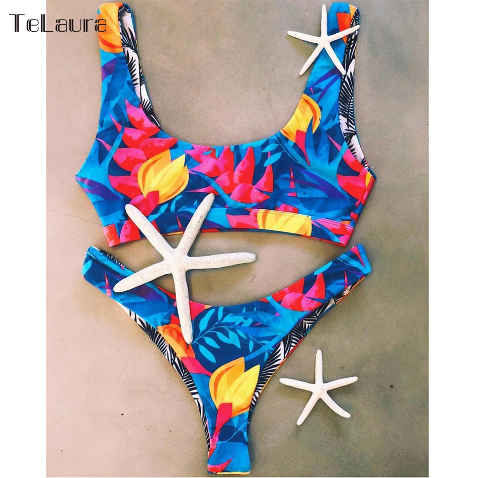 2019 New Sexy Bikini Swimwear, Women's Bikinis, Biquini Print Brazilian Bikini Beach Wear 3