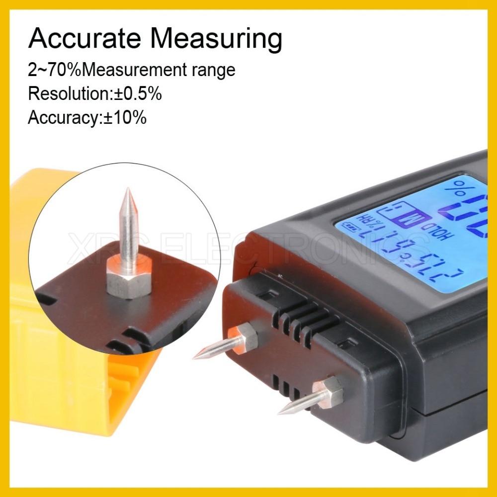 Misuratore di umidità per legno portatile RZ con design raffinato - Strumenti di misura - Fotografia 4
