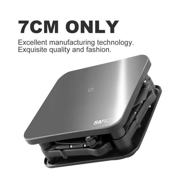 SMRC S1 Foldable Quadcopter Mini Wi-Fi RC Drone with 0.3MP 500W Camera Altitude Hold Headless Mode Gravity Sensor APP Control